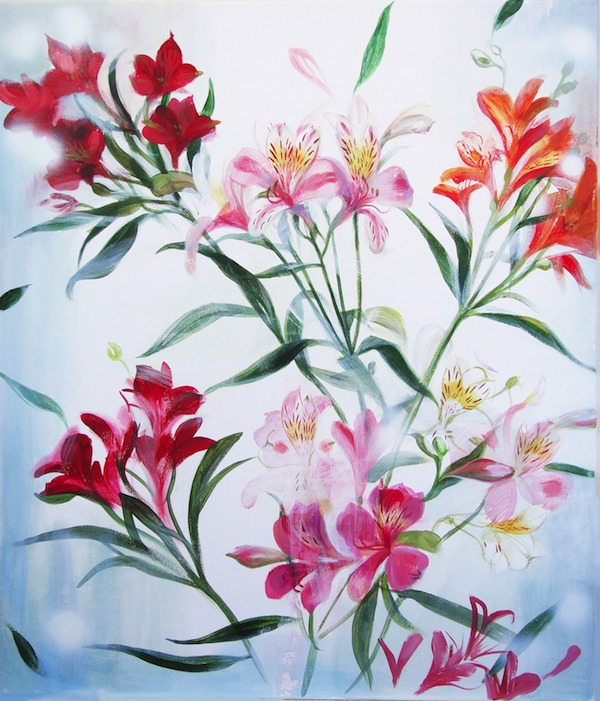 FLOWERS Acrylic painting