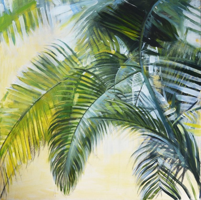 PALM Acrylic painting on Canvas