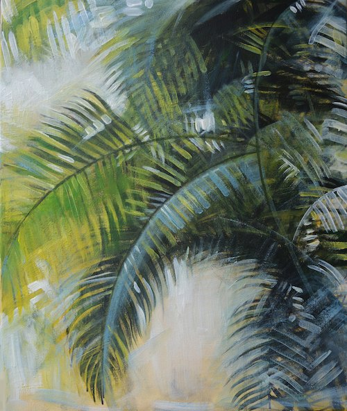 palm painting