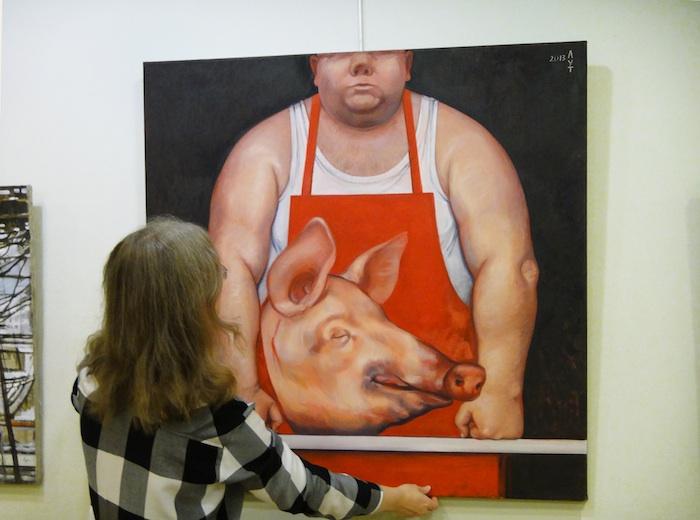 butcher-in-exhibition