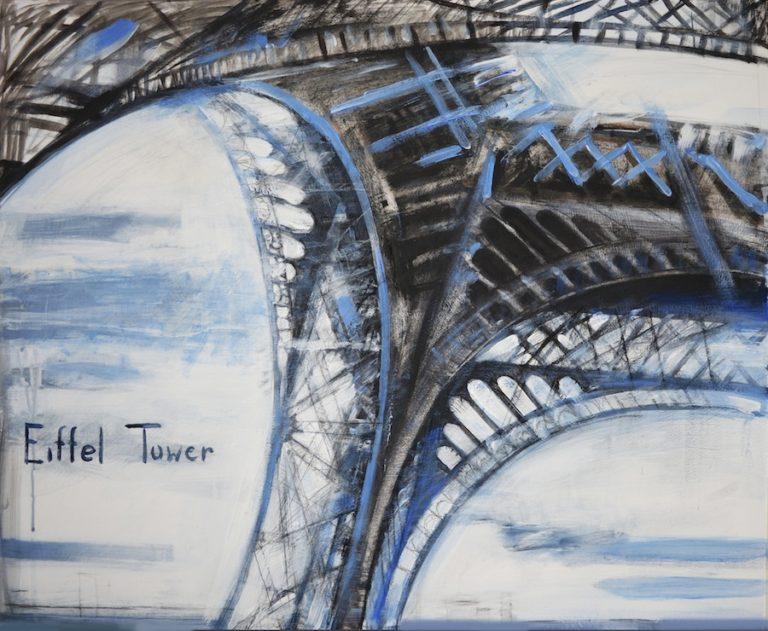 Eiffel Tower Paris artwork painting